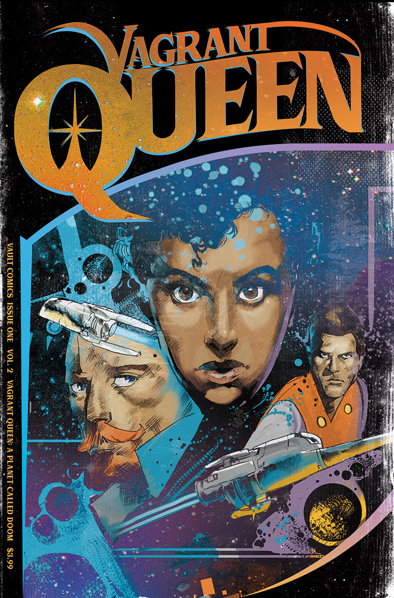 Vault Comics Launches New Vagrant Queen Series For 2020, Alongside TV Show