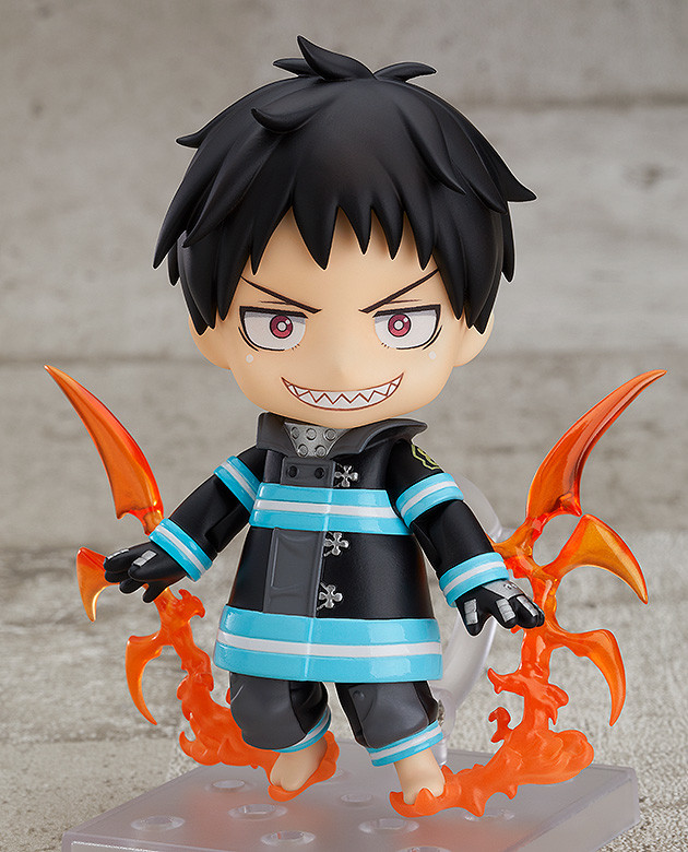 """""""Fire Force"""" Turns up the Heat Again with New Nendoroid Figure"""