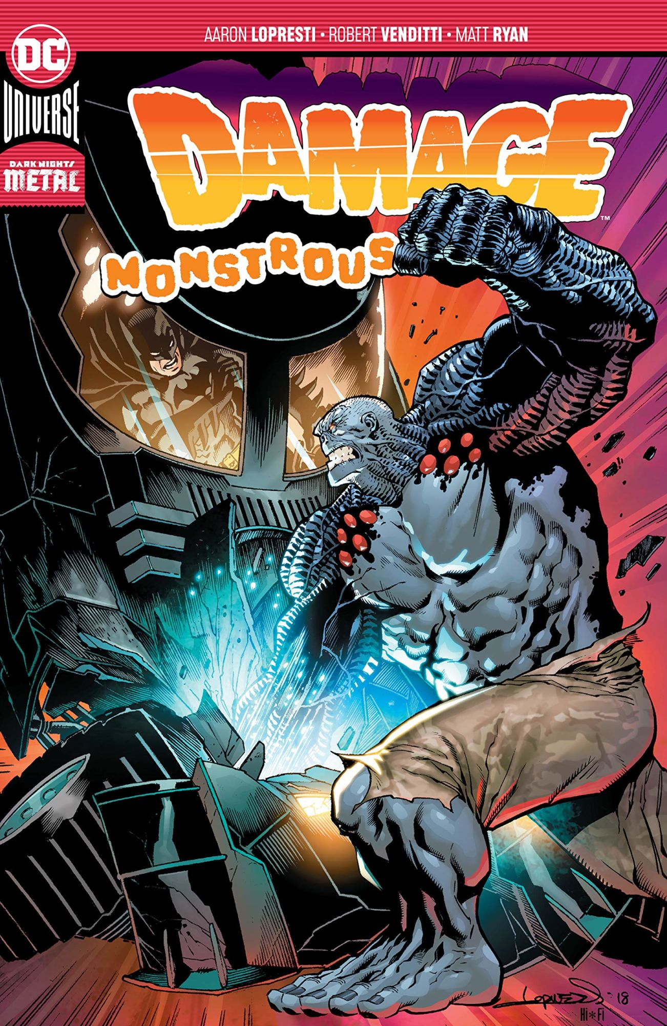 DC Comics Cancels Damage Vol 3