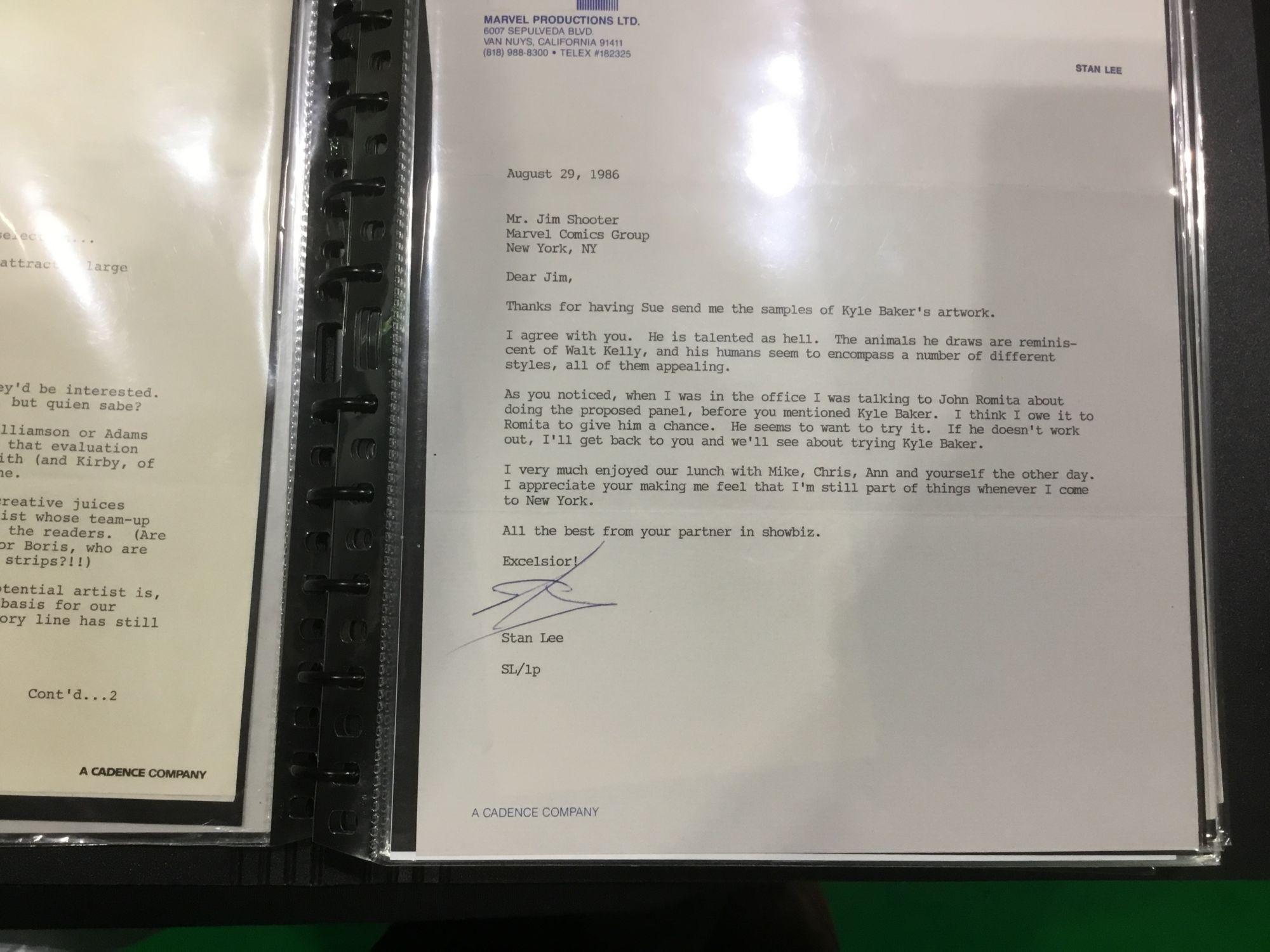 The Jim Shooter Files – When Stan Lee Chose John Romita Over Kyle Baker