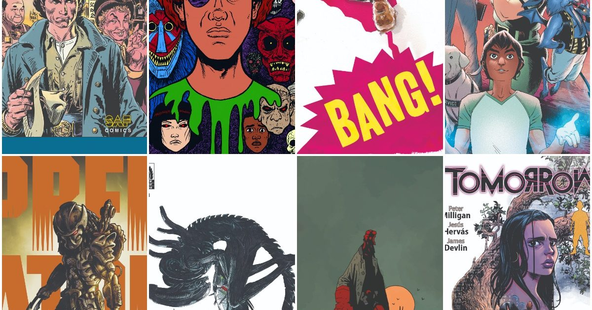 BANG!, Blackwood, BPRD, Tomorrow, Hidden Society and Predator Hunters III Launch in Dark Horse Comics February 2020 Solicits
