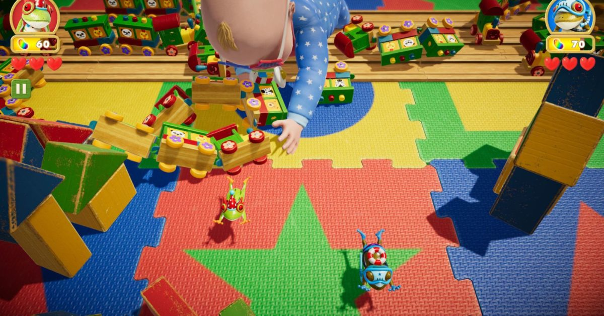 """""""Frogger In Toy Town"""" Co-Op Announced For Apple Arcade"""