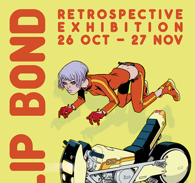 Things to Do in London If You Like Comics, November 2019