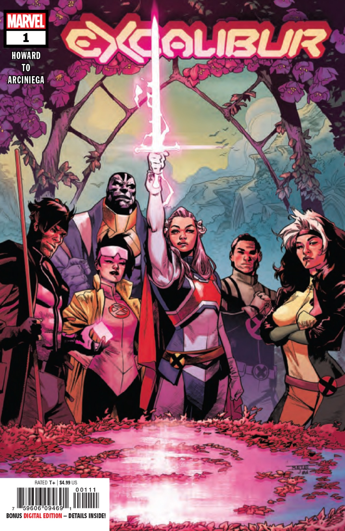 Excalibur #1 Sets the Standard for the Dawn of X [X-ual Healing 10-31-19]