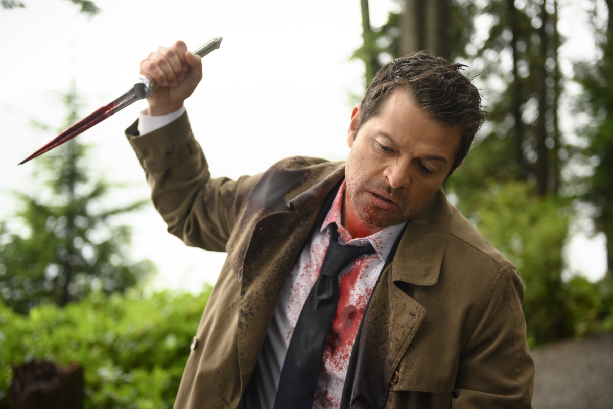 """Supernatural"" Season 15 ""Golden Time"": Castiel Clearly Has a Point to Make [PREVIEW]"