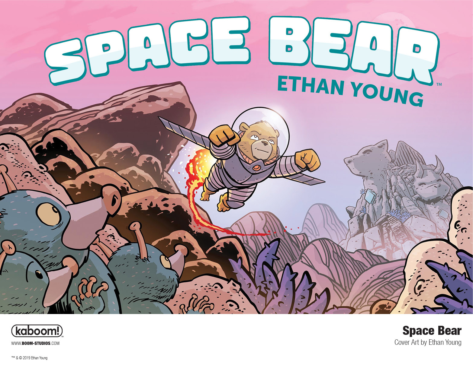BOOM! Studios Vows to Put a Bear in Space by 2020