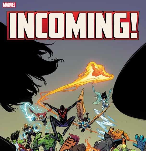 Marvel Comics Sends Incoming #1 For Second Printing Before ...