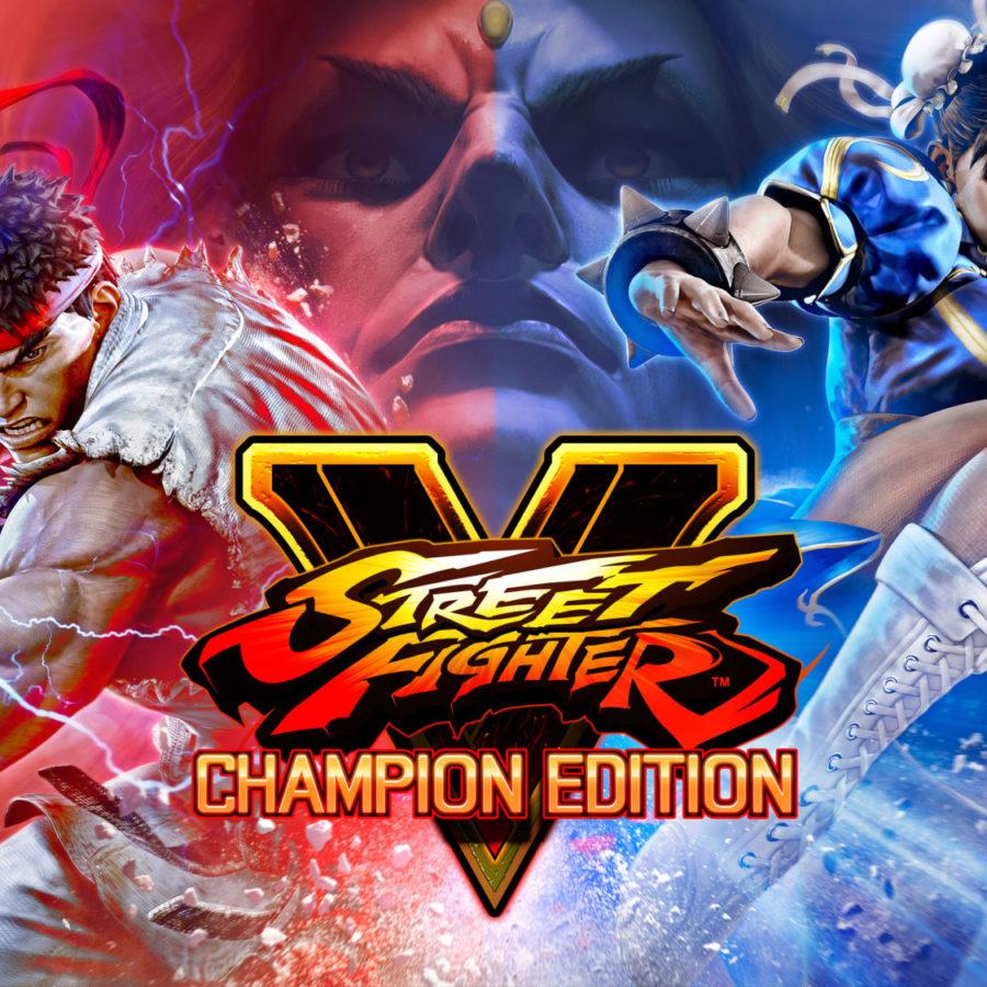 street fighter v champion edition logo