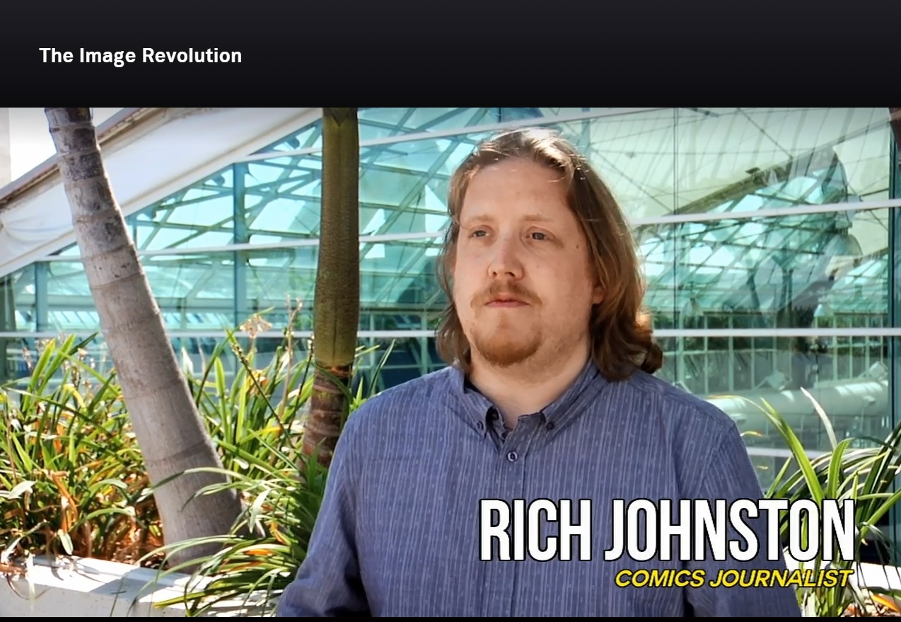 When Rich Johnston Spoke Out On