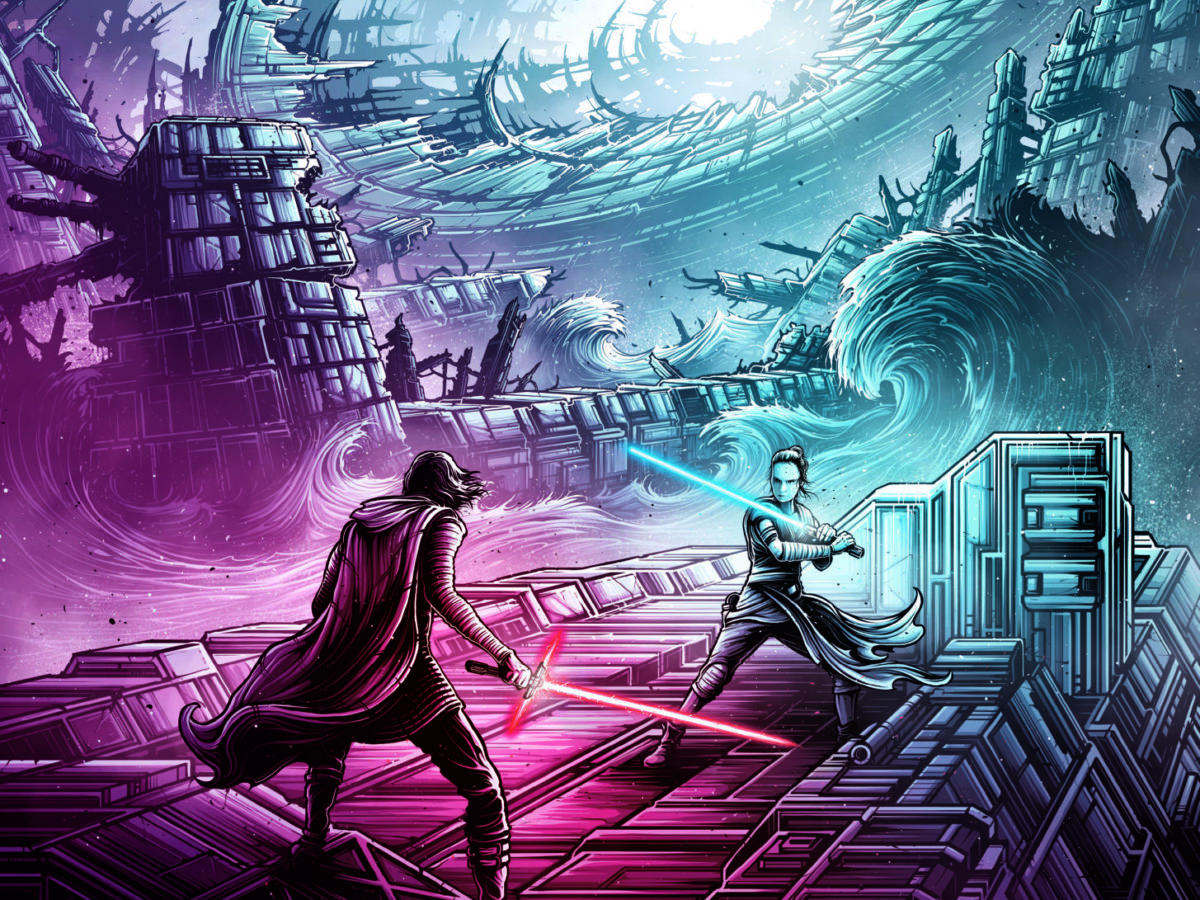 Uk Imax Gives Away Four Dan Mumford Posters Free Alongside Release Of Star Wars The Rise Of Skywalker