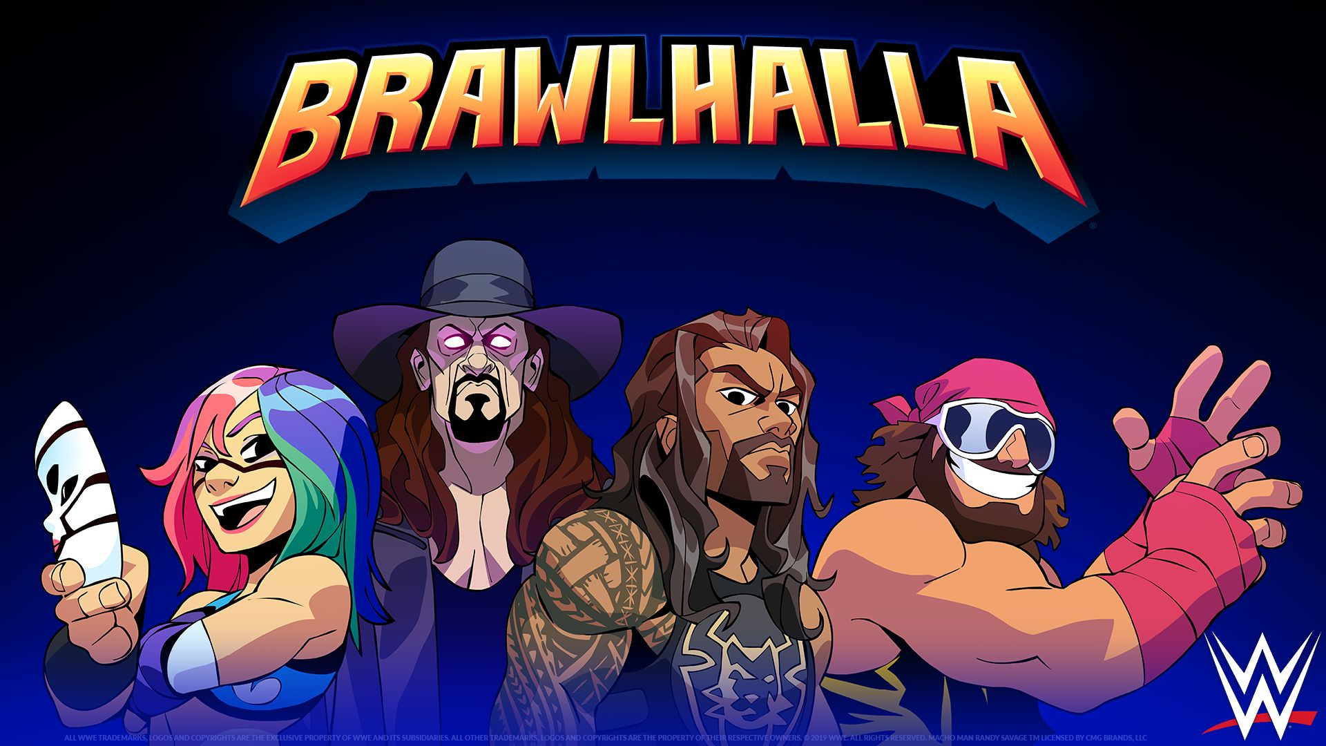 Four Wwe Superstars Are Now Added To Brawlhalla
