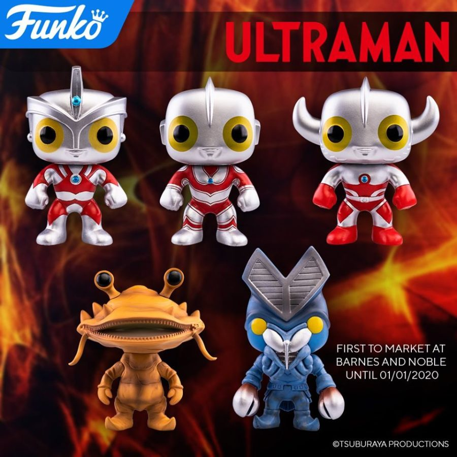 TELEVISION  ULTRAMAN 764Barnes /& Noble ExclusiveNew FUNKO POP