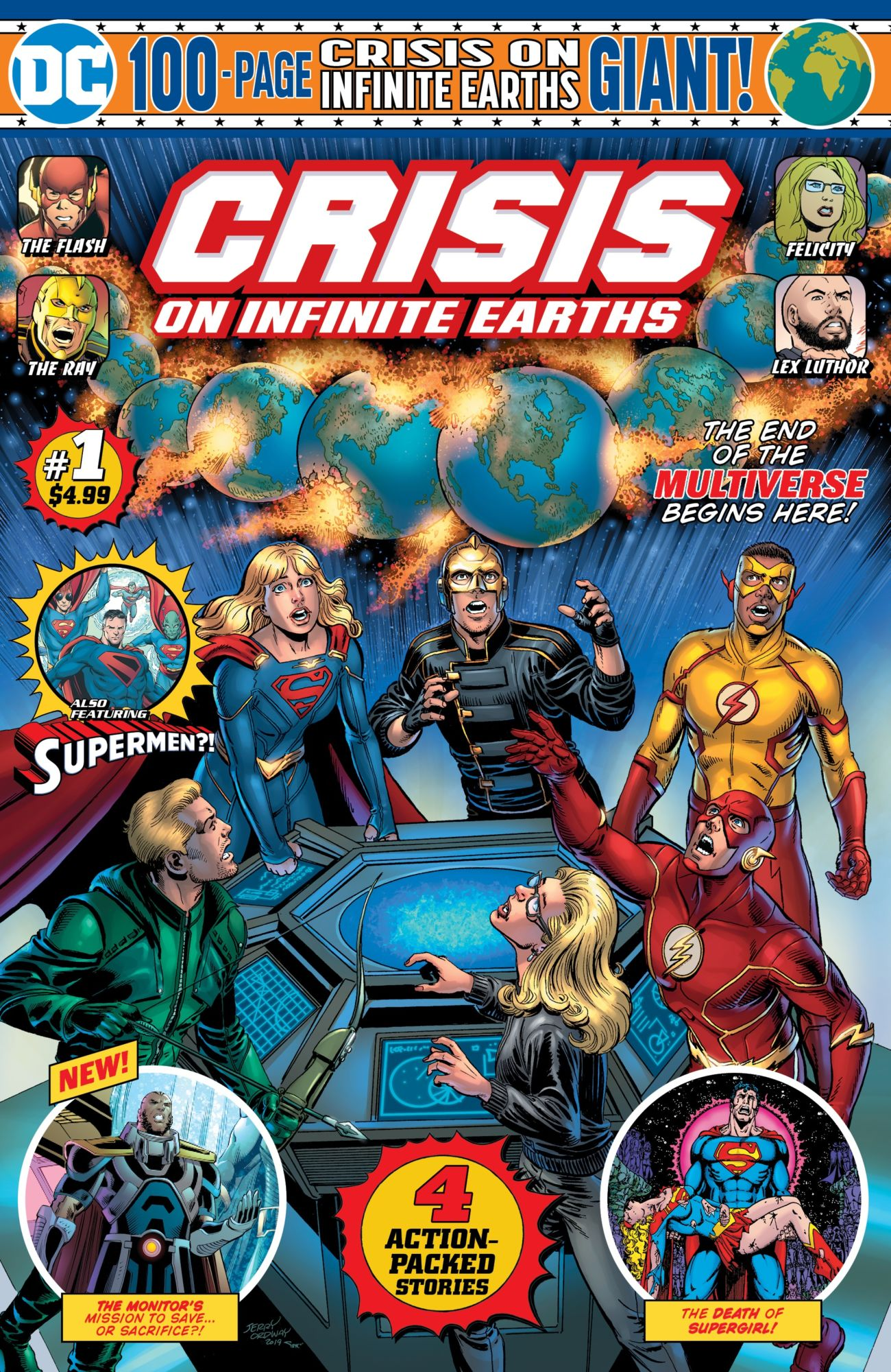 Crisis On Infinite Earths Giant #1 – Good Read, Great Easter Eggs, Horrible Crisis Management, Bad Arrowverse Tie-In (SPOILERS)