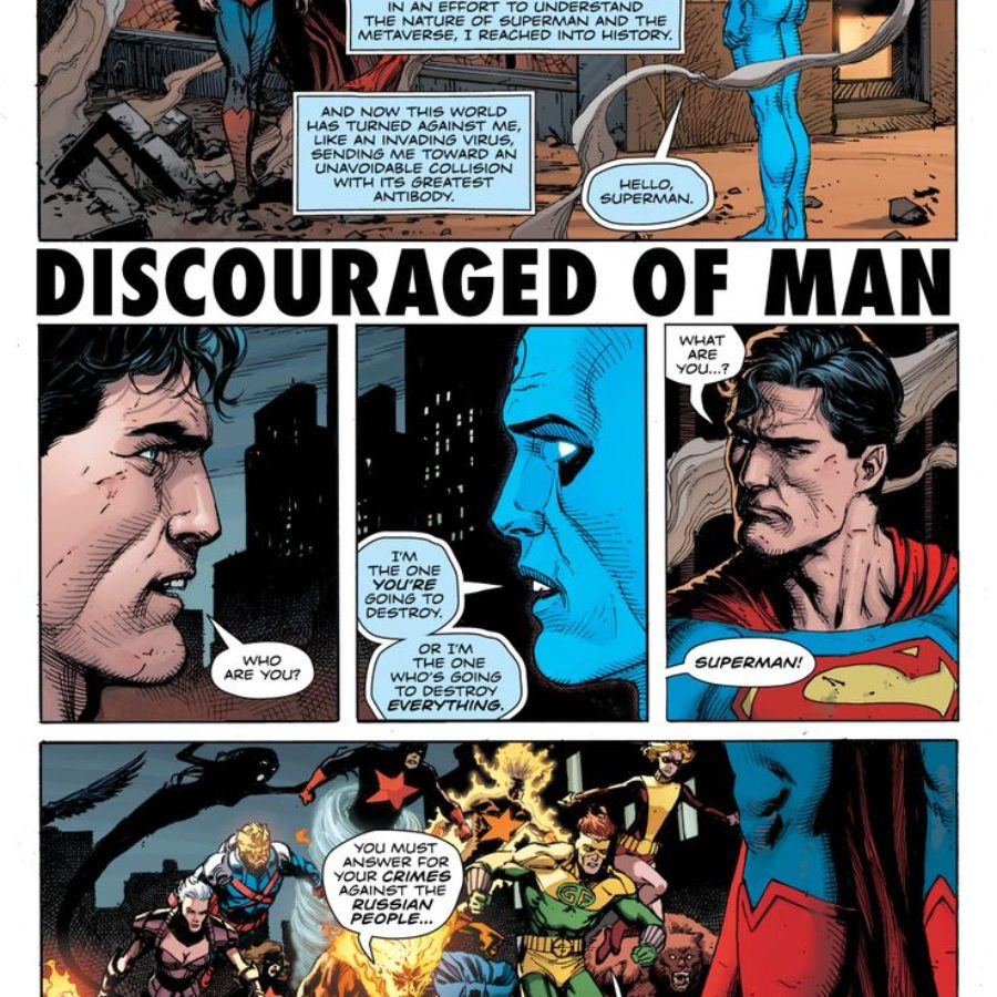 The First Six Pages Of Doomsday Clock 12 The Finale Of This