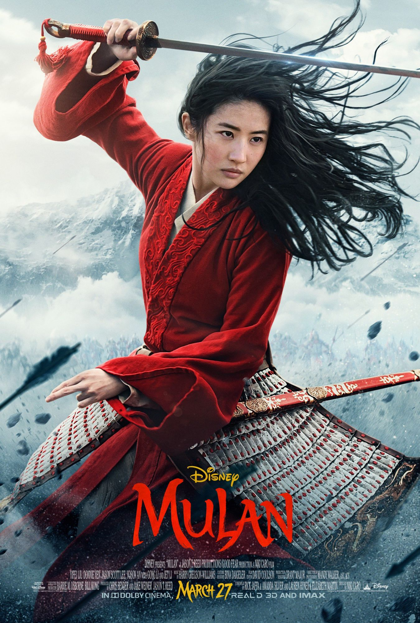 "New Poster for ""Mulan"" Ahead of a New Trailer Dropping Tomorrow"