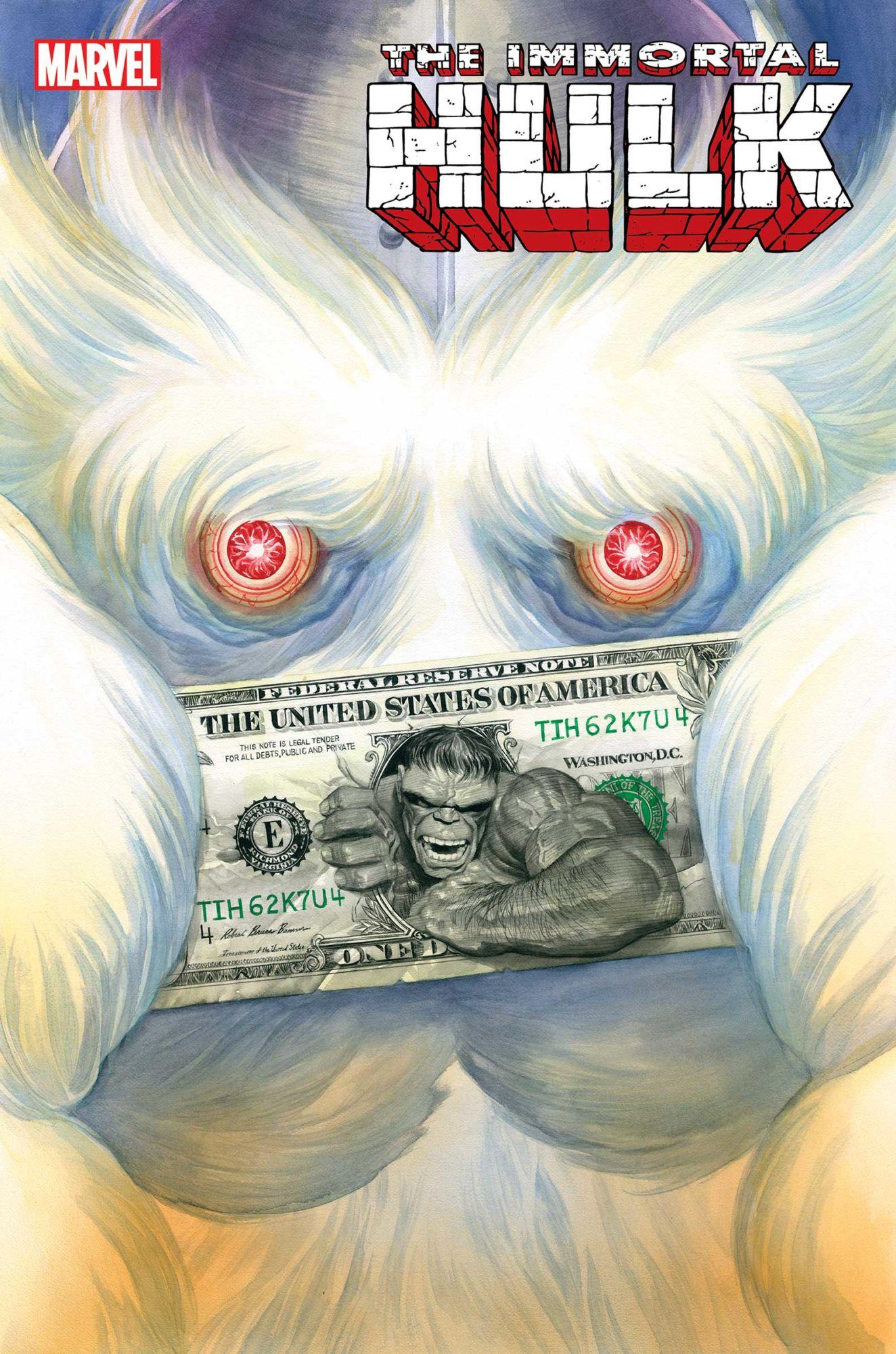Immortal Hulk #14 Alex Ross Cover A Al Ewing First Print 2019