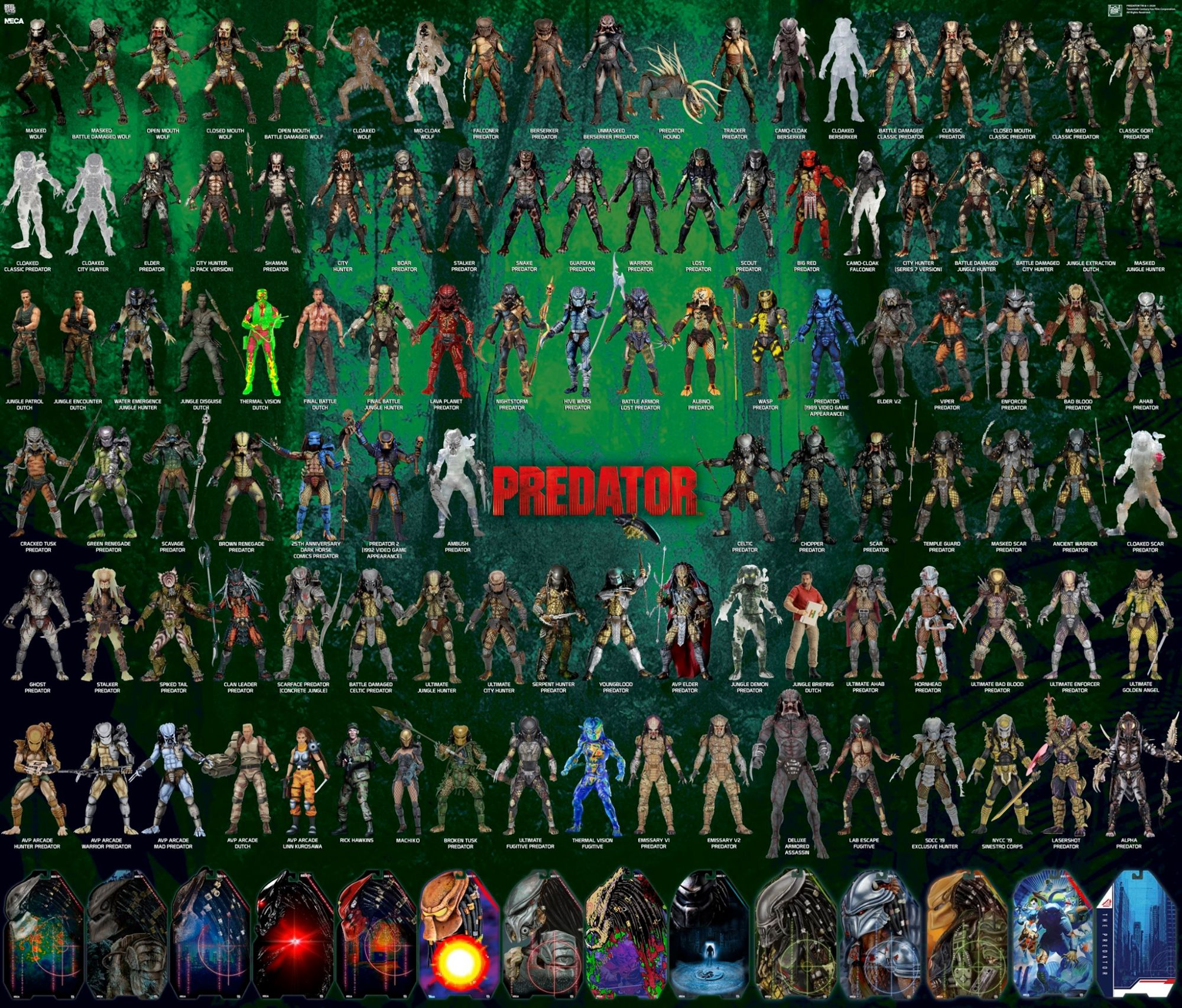 NECA Gives Us Visual Guides with 5 Days of Downloads