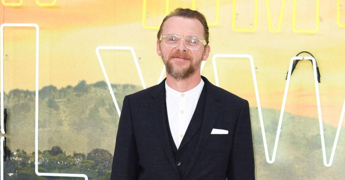 The Mandalorian: Simon Pegg Pitches His Star Wars Return