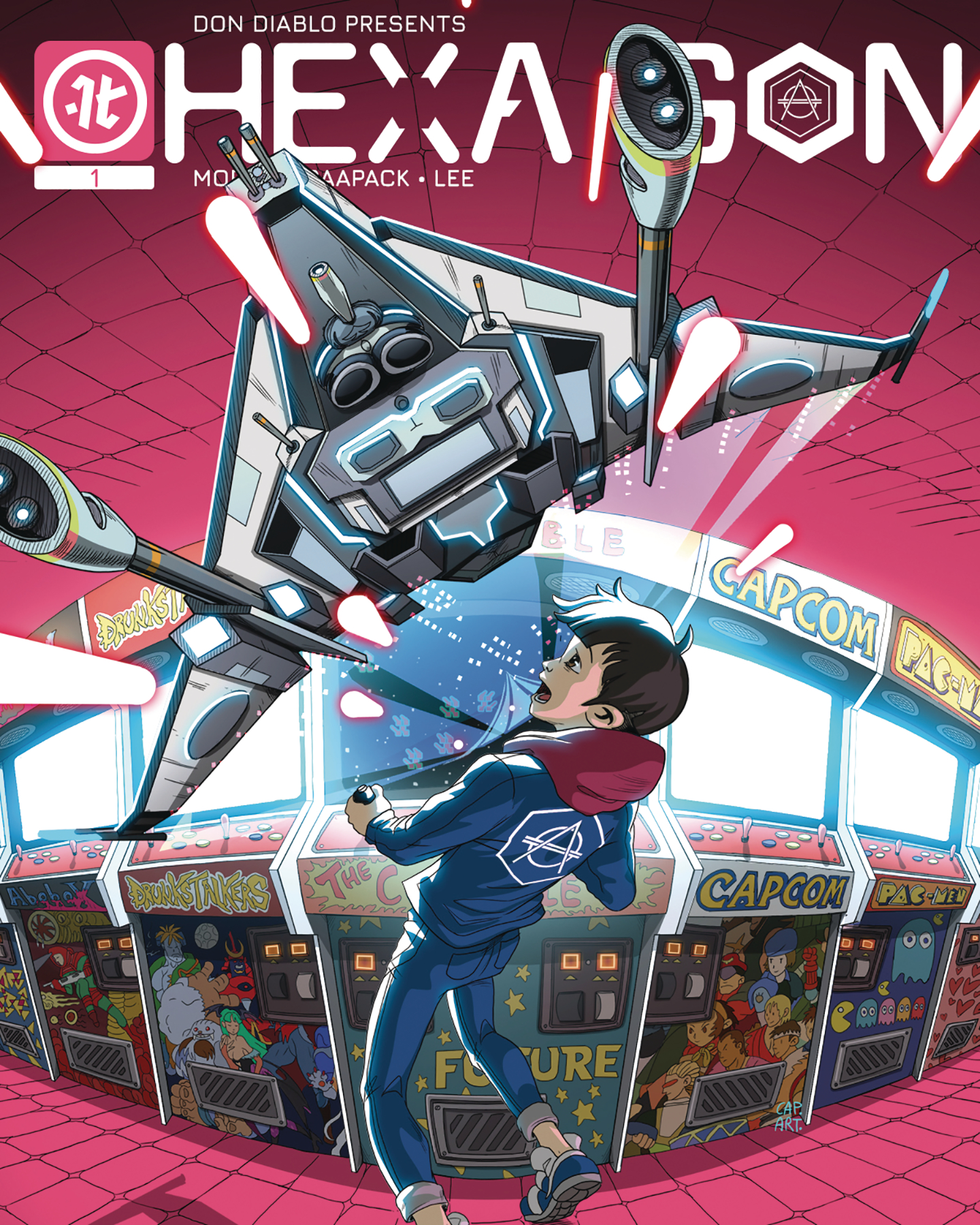 Michael Moreci and Jheremy Raapack Launch Hexagon From Impact Theory in March 2020