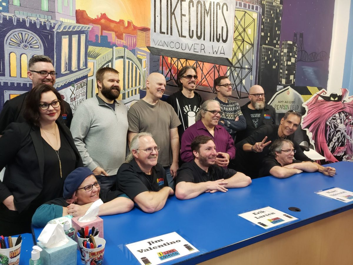 Image Comics Partners Big Signing In Vancouver In Washington Earlier Today