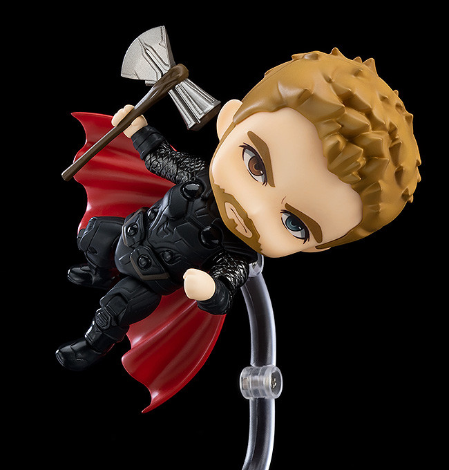"""Thor Goes Deluxe with New """"Avengers: Endgame"""" Nendoroid Figure"""
