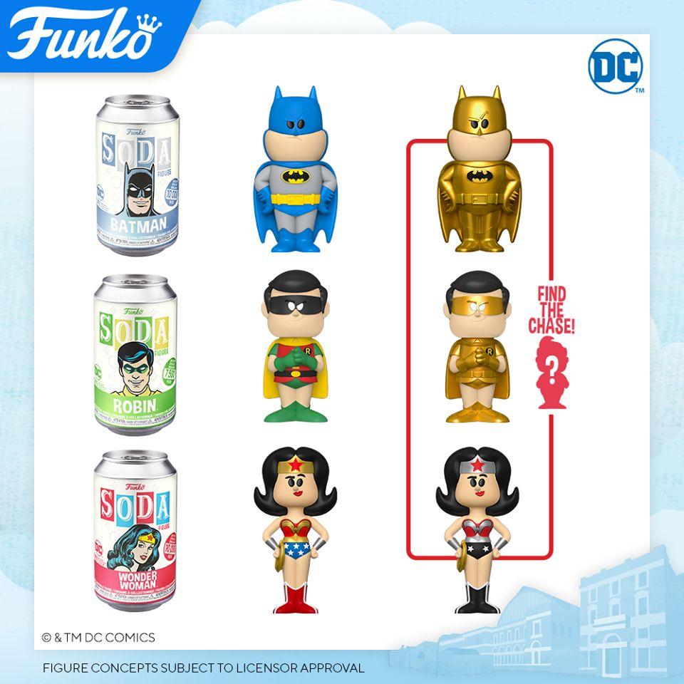 Funko London Toy Fair 2020 Reveals: Funko Vinyl Soda Figure Line