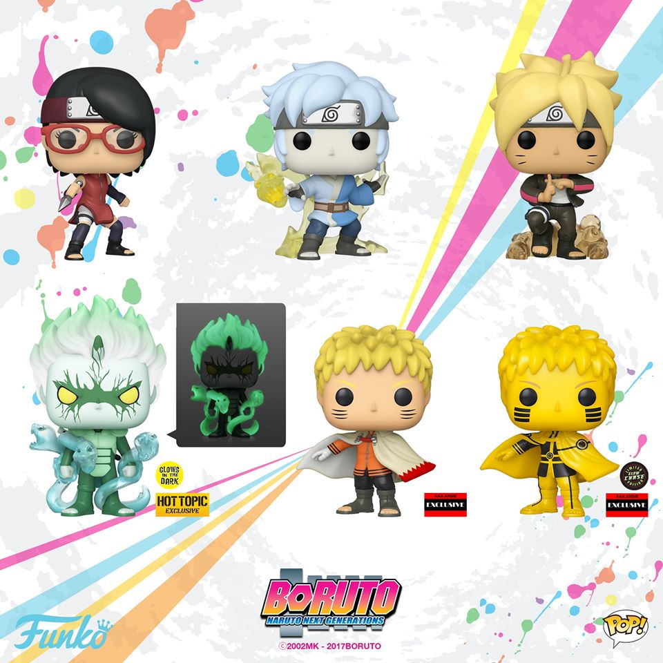 "Funko Reveals ""Boruto: Naruto Next Generations"" Unveiled"
