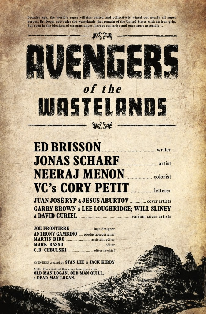 Avengers of the Wastelands #1 [Preview]
