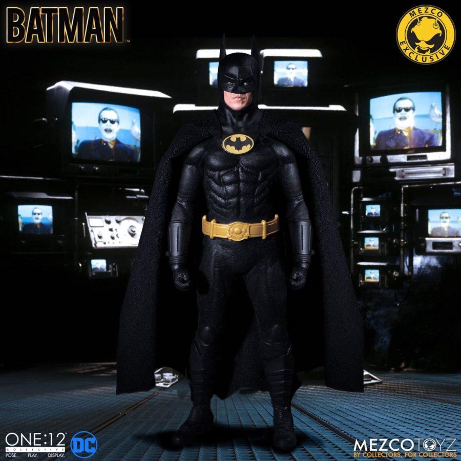 Pre-Orders for Batman 1989 One:12 Mezco Toyz Figure Goes Live