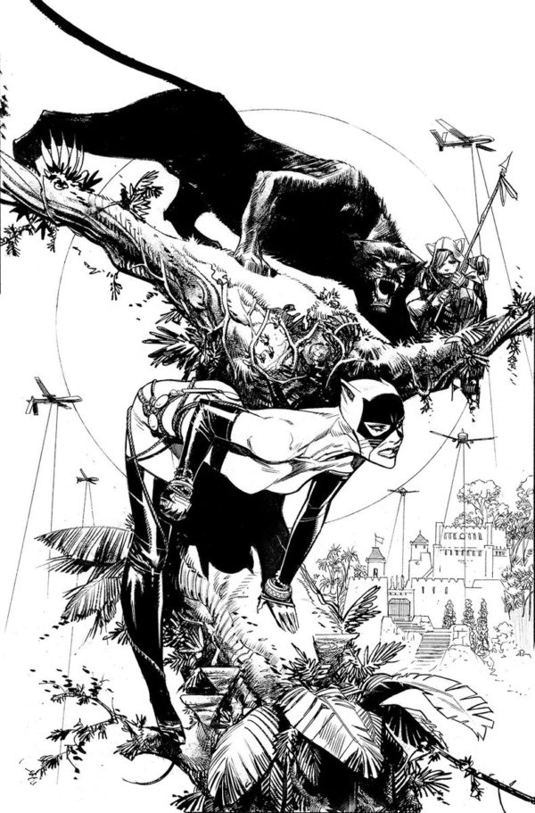 Sean Gordon Murphy and Blake Northcott on Catwoman for DC Comics in 2020