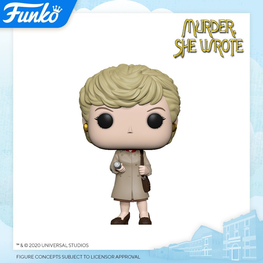 "Funko Reveals First Ever ""Murder She Wrote"" Pop at London Toy Fair"