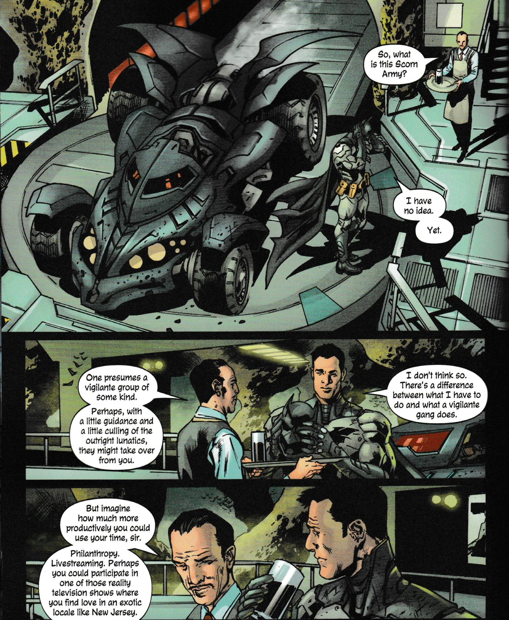The Batman's Grave But Alfred Pennyworth Is Hilarious (#4 Spoilers)