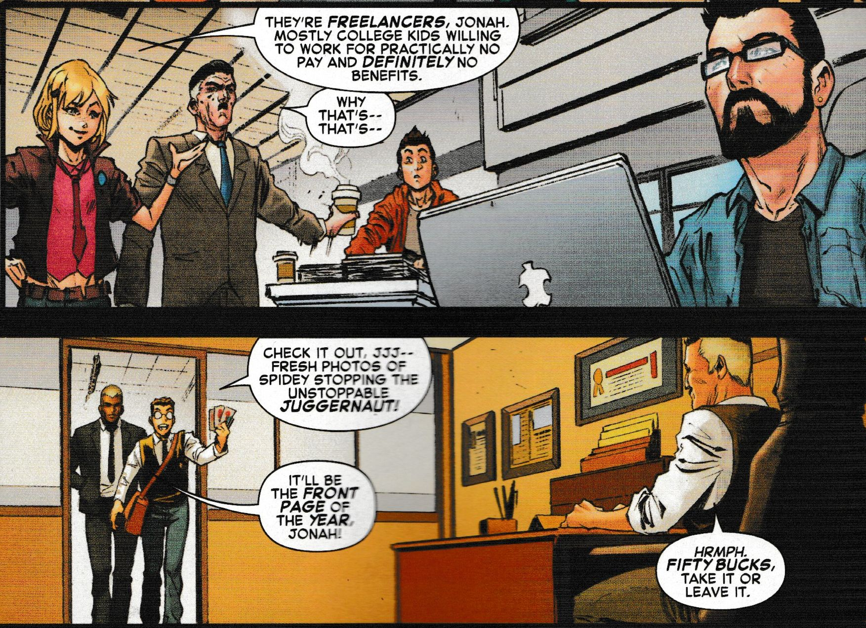 Clickbait in the Marvel Universe is All J Jonah Jameson's Fault – Amazing Spider-Man #38 Spoilers