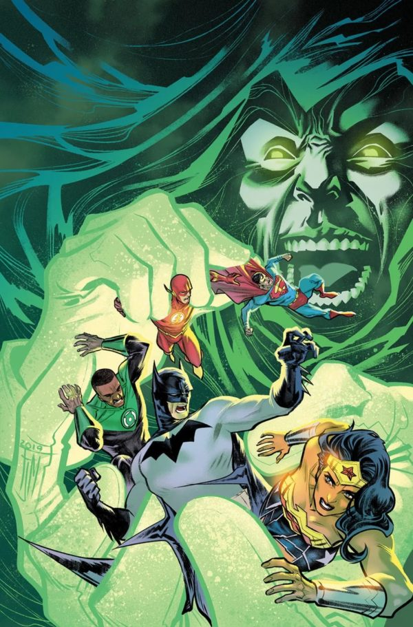 """The Spectre """"Returns"""" in April's Justice League #45, and He's Out for… Wait for It… Vengeance"""