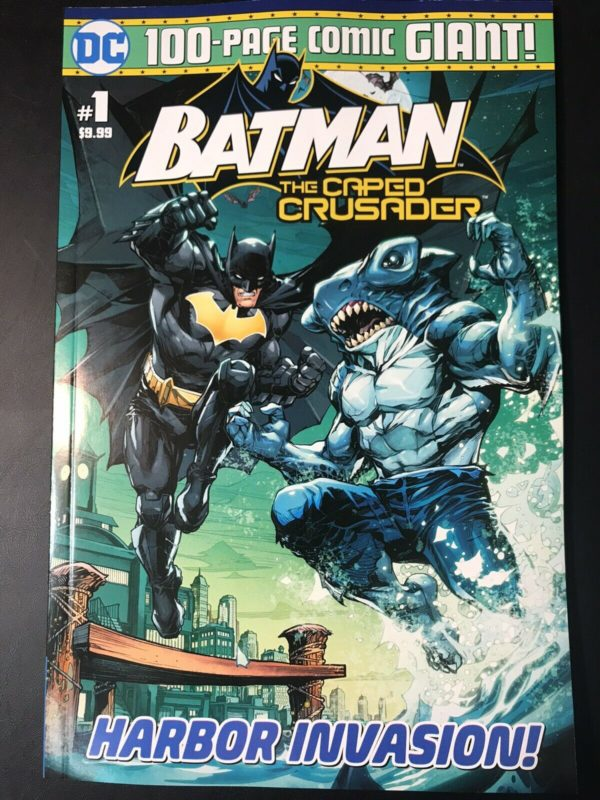 Target Gets Its Own Exclusive Batman: The Caped Crusader 100-Page Giant #1