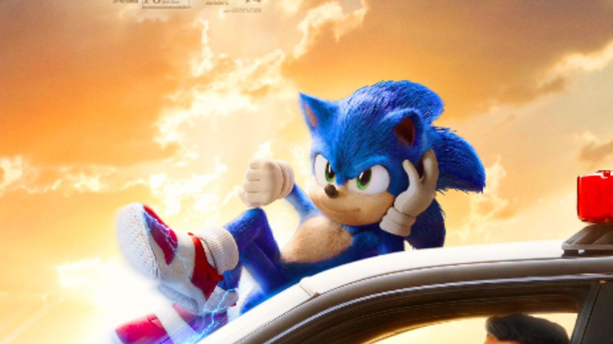 sonic the hedgehog 2020 movie poster