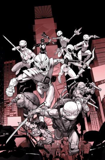 Power Rangers & Turtles Top Advance Reorders