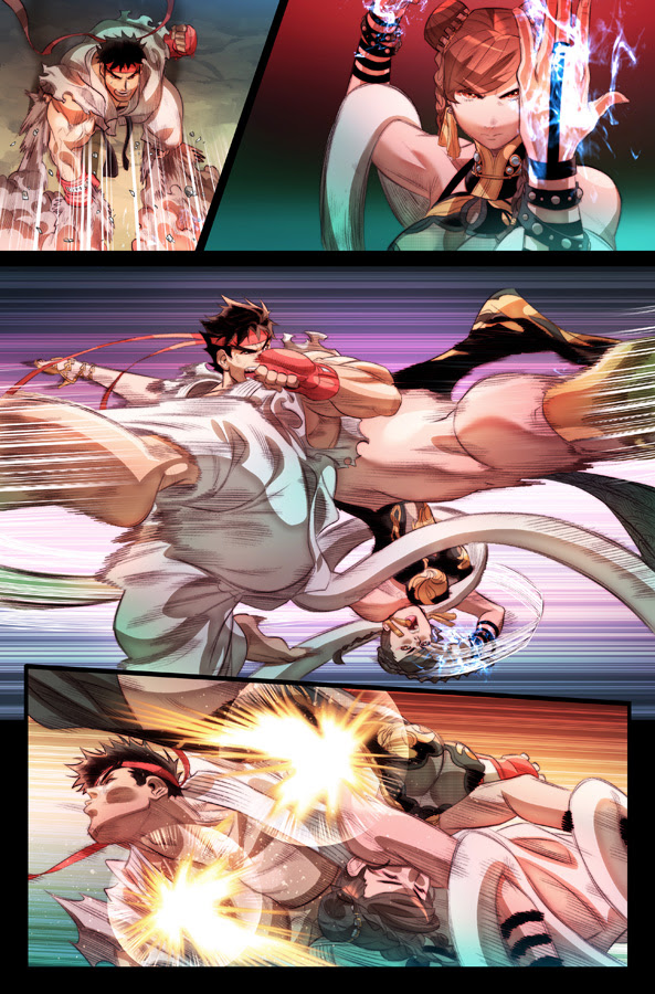 Preview: Street Fighter #100 From Udon For Free Comic Book Day