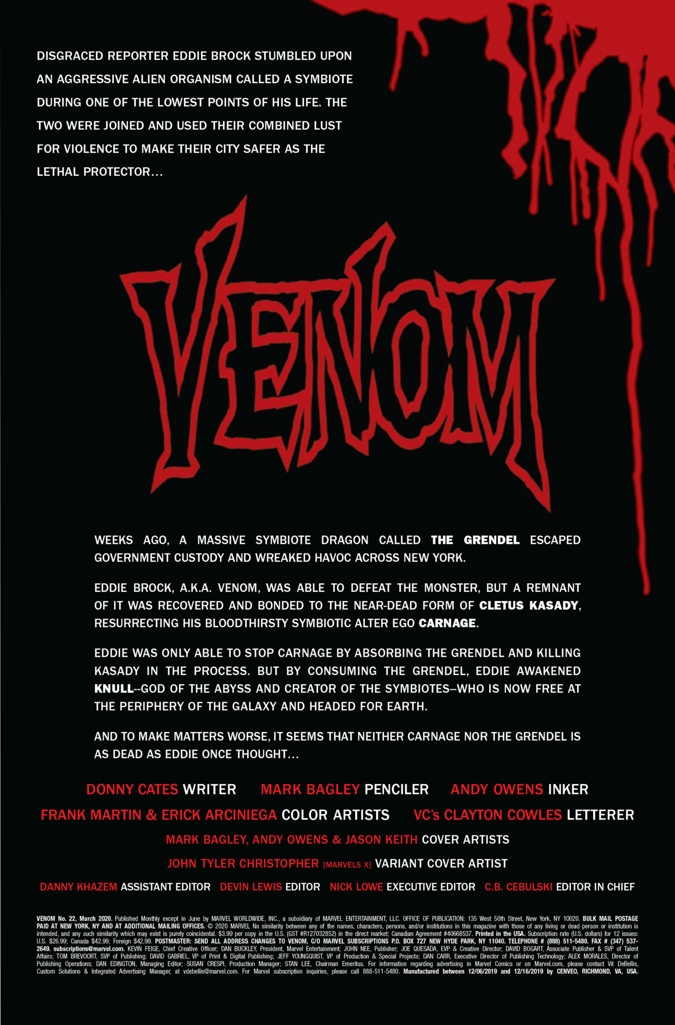 Eddie Brock is in His Underwear for This Entire Venom #22 Preview