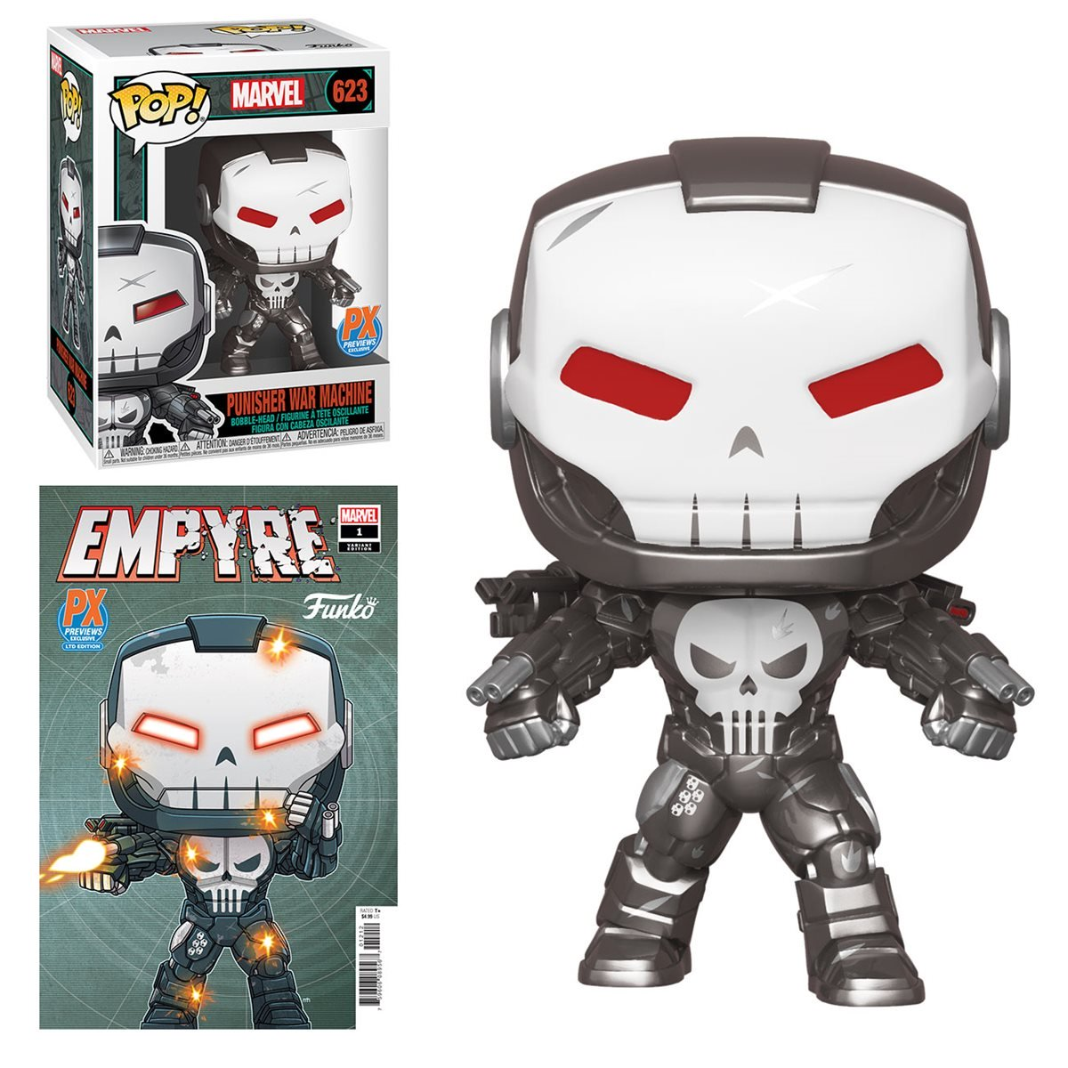 Funko Shows New Marvel Pop Vinyls and Comic Books