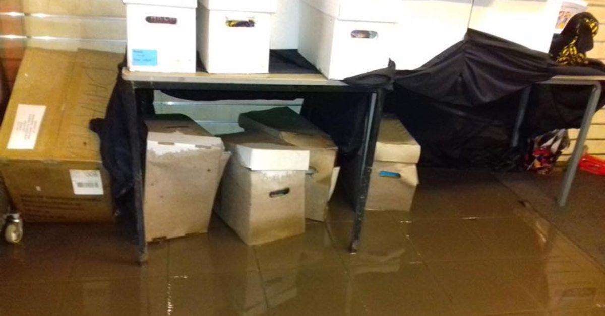 2-Tone Comics of Hebden Bridge Flooded Again