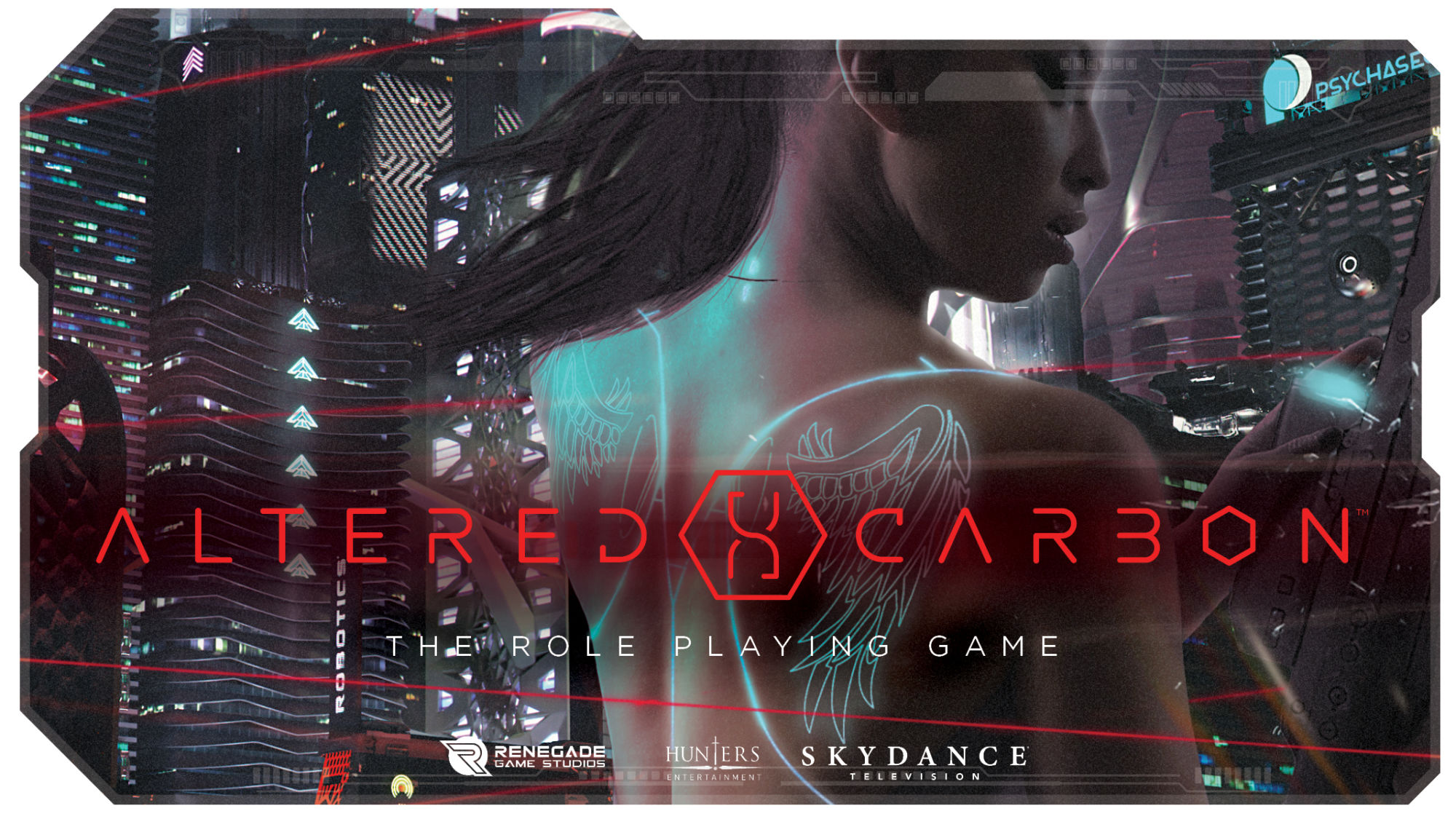 """Altered Carbon: The Role Playing Game"" On Kickstarter"