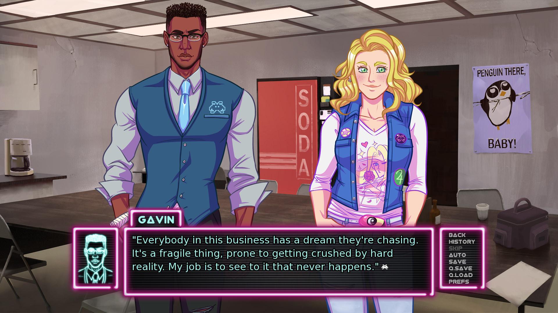 "Visual Novel ""Arcade Spirits"" is Headed to Consoles This May"