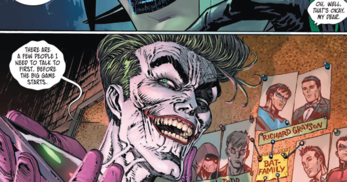 So, The Joker Knows Who All The Robins Really Are... Can Bruce Wayne Be Far Behind?
