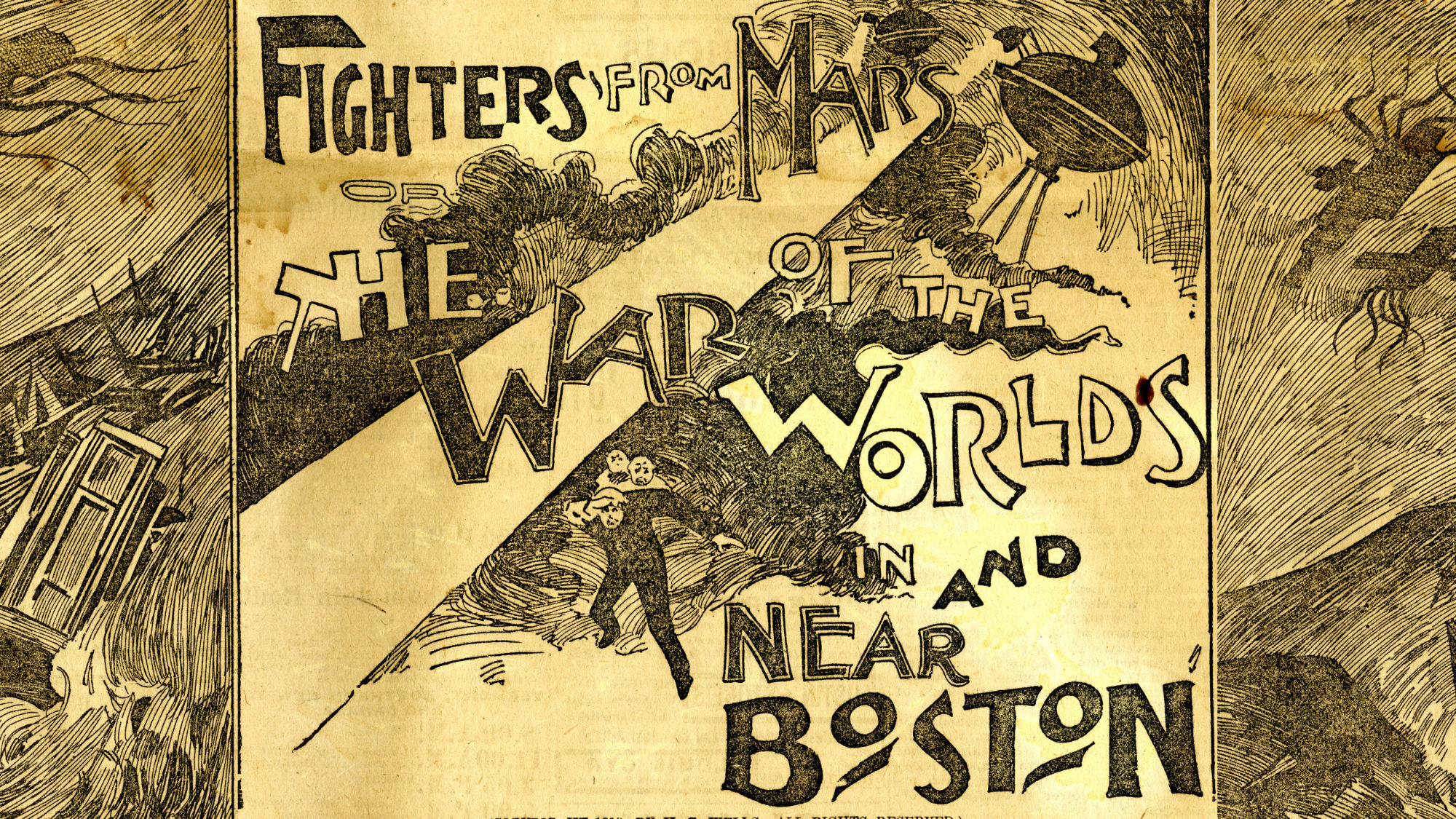 THE ISSUE: Fighters from Mars Attack
