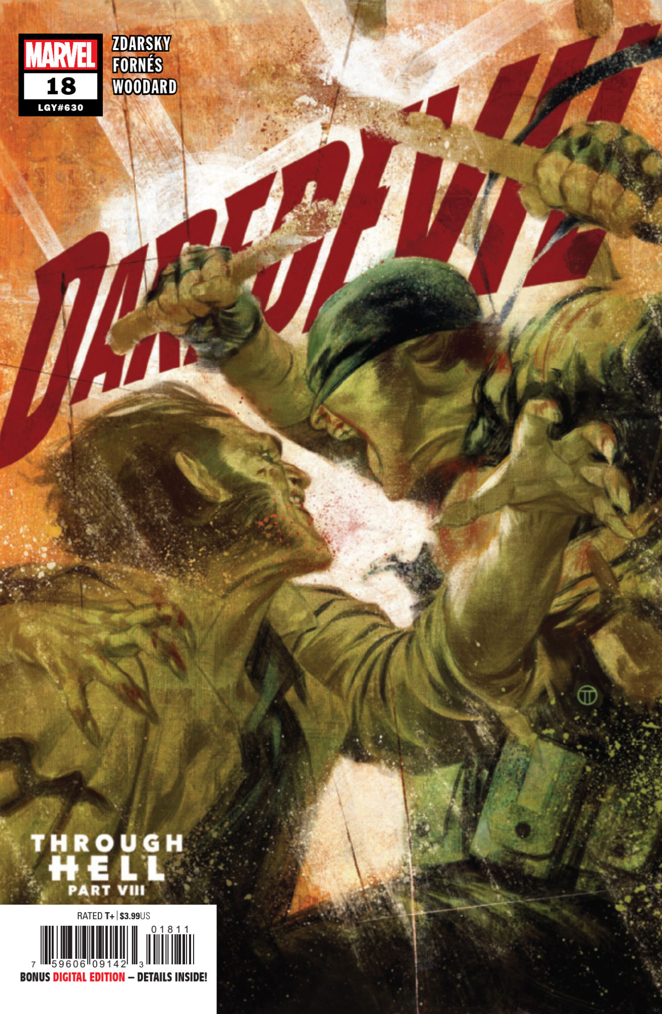 """REVIEW: Daredevil #18 -- """"This Issue Has One Setting: 'Holy Crap'"""""""