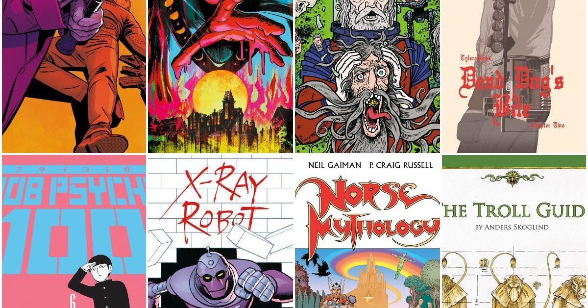 Neil Gaiman's Norse Mythology in Dark Horse Comics' May 2020 Solicitations