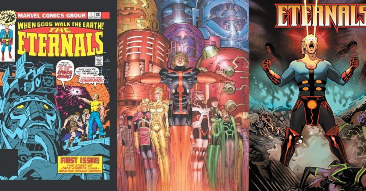 Four Eternals Collections From Marvel in Time For the Movie - From Jack Kirby to Neil Gaiman