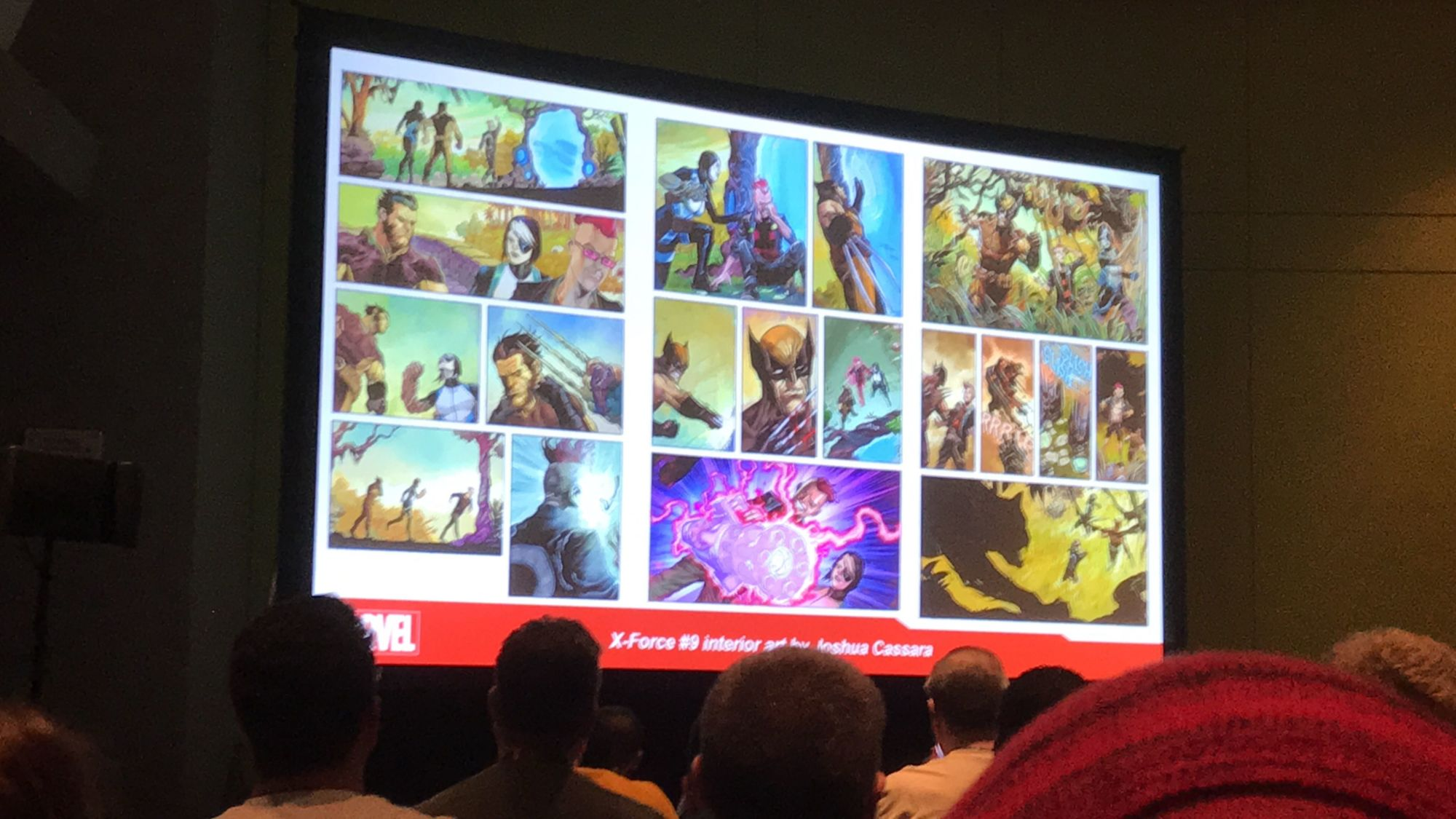 Preview Art from Upcoming X-Books at the C2E2 X-Men Panel - X-Men #8, Marauders #9,