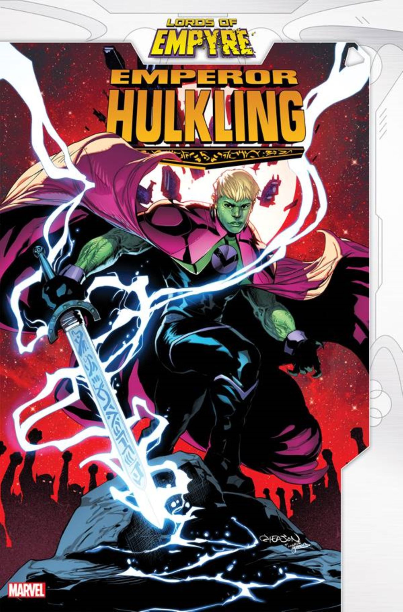 Zdarsky, Oliveira and Garcia's Essential Empyre Spin-Off For Hulking - Lord of Empyre